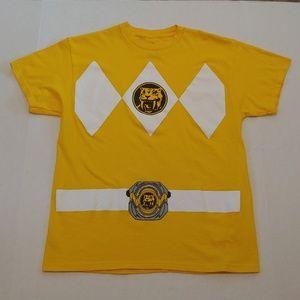 Yellow Power Ranger graphic tee